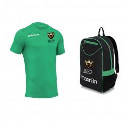 Saints Stowe T Shirt JR & Backpack