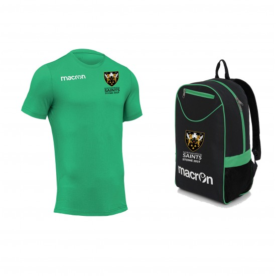 Saints Stowe T Shirt SR & Backpack