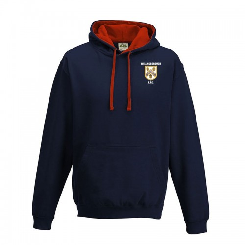 Wellingborough RFC 2 Colour Hoodie JR