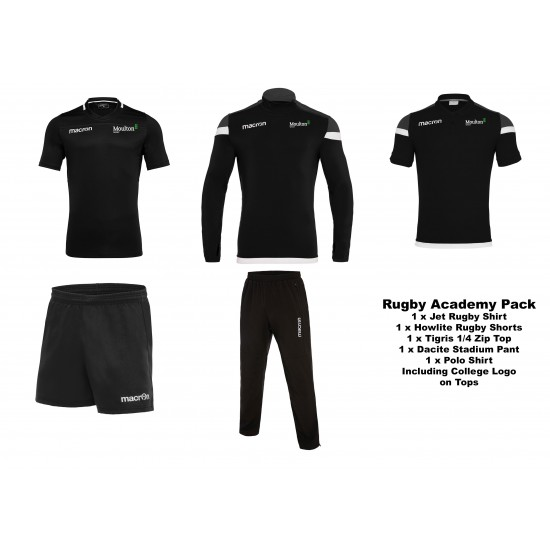 Moulton College Rugby Pack