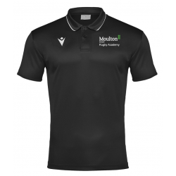 Moulton College Draco Polo Shirt Black Rugby