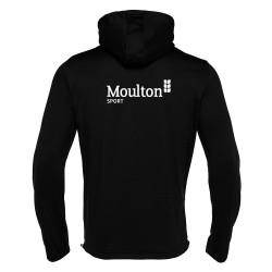 Moulton College Freyr Tracksuit Top Football Black