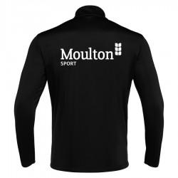 Moulton College Havel 1/4 Zip Black Football