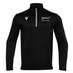 Moulton College Havel 1/4 Zip Black Rugby