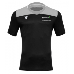 Moulton College Jasper Rugby Shirt Black