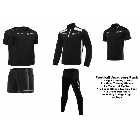 Moulton College Football Pack