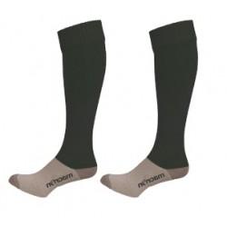 Moulton College Round Socks Black
