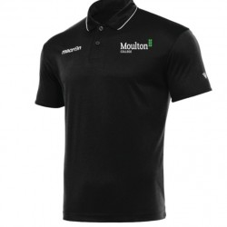 Moulton College Draco Polo Shirt Black