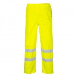Hi-Vis Breathable Rain Trousers
